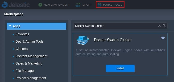 Docker Swarm installation